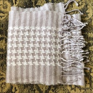 Cream Charter Club Cashmere Scarf